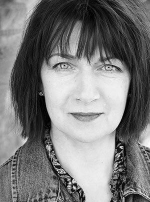 Black and white headshot of Maureen Beattie