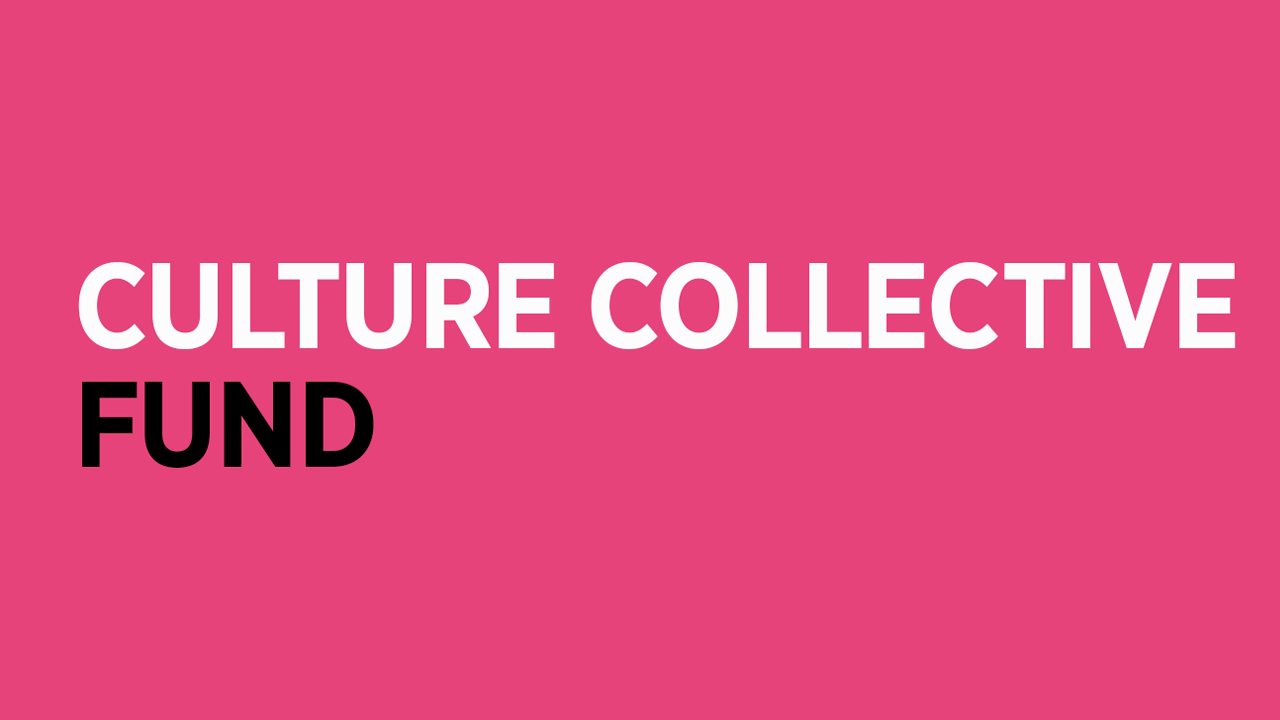 Culture Collective fund logo - funder of Young Quines