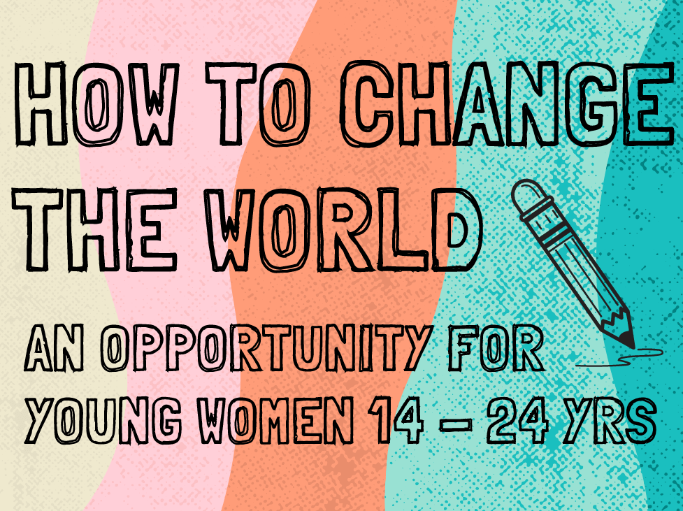How to Change the World promotional graphic