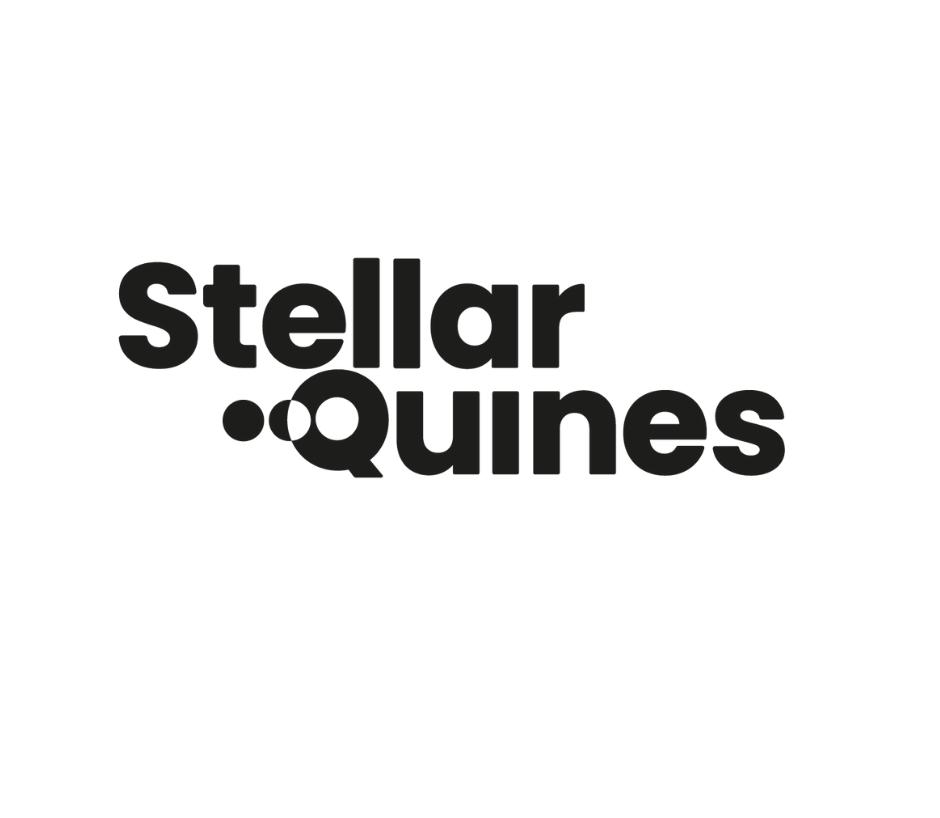 Stellar Quines logo in black