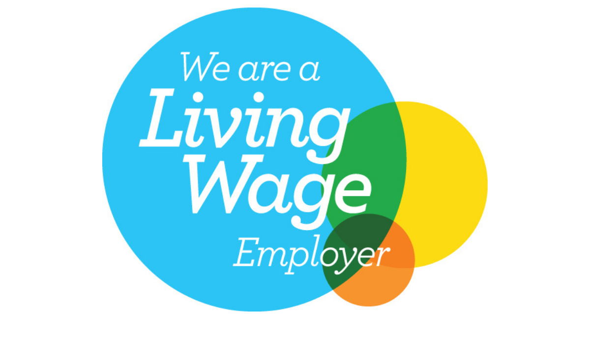 We are a Living Wage Employer badge